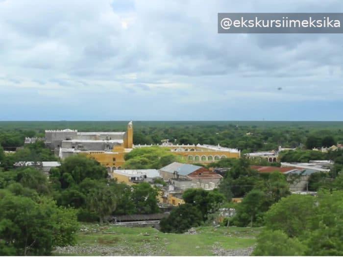 Исамаль желтое поселение