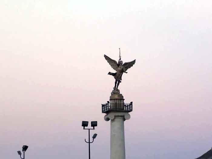 Ангел в столице Чихуахуа