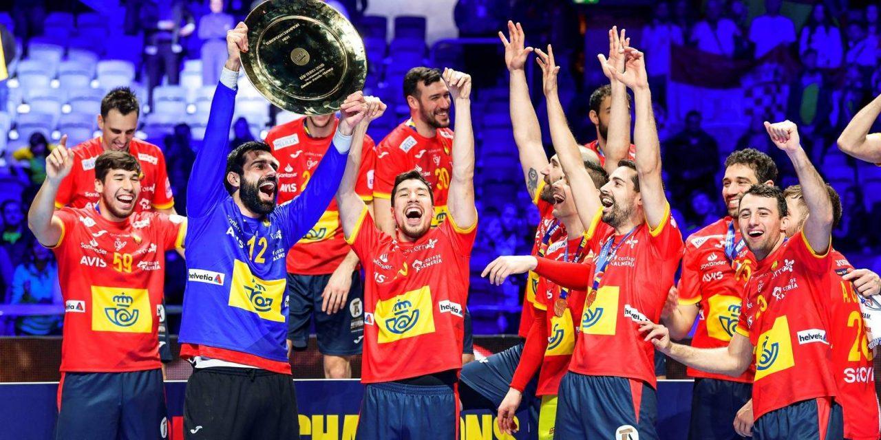 """<span class=""""entry-title-primary"""">Andebol ibérico alcança resultado histórico</span> <span class=""""entry-subtitle"""">Espanha ganhou e Portugal ficou em sexto lugar</span>"""