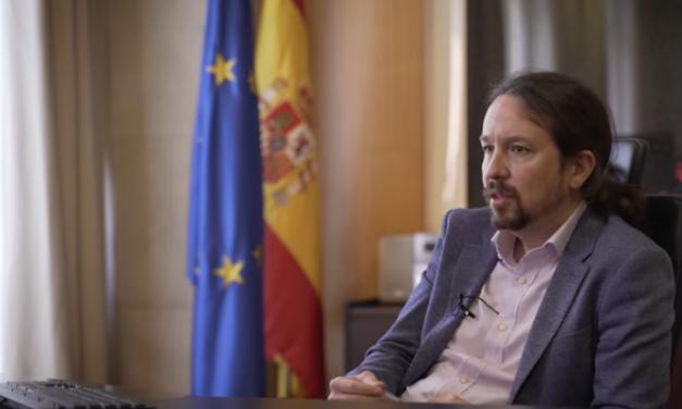 """<span class=""""entry-title-primary"""">Pablo Iglesias: """"Os governos de Espanha e Portugal são chamados a entenderem-se e serem aliados na Europa""""</span> <span class=""""entry-subtitle"""">O vice-presidente espanhol justificou esta aliança porque """"falamos de dois povos unidos pela geografia e cultura""""</span>"""