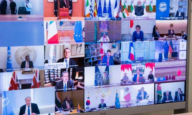 No G20, Guterres diz que mundo não está ganhando a guerra com o novo coronavírus