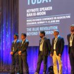 Presentados tres productos que van a revolucionar la acuicultura mundial