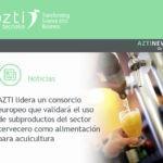 Azti lidera un proyecto para la reutilización de los subproductos de cerveza como alimentación para la acuicultura
