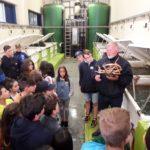 La Cofradía de Celeiro impulsa entre los escolares la promoción y el consumo de productos pesqueros