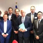 Cepesca lleva a Sinkevicius las preocupaciones del sector pesquero europeo