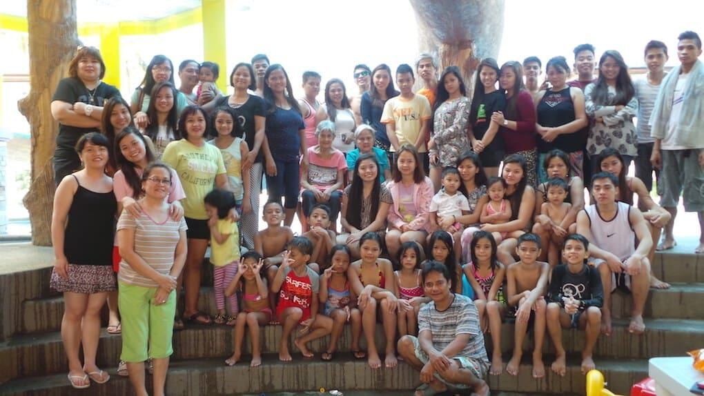 My family in Manila, Philippines