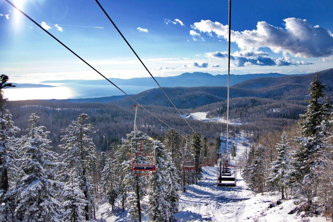 Platak ski resort, Croatia