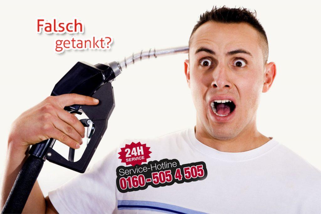 falsch-getankt-Deutschland-notdienst-flyer-24h-telefonnummer-01605054505