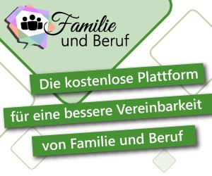 Werbebanner für Familie und Beruf – Die digitale Lösung für eine bessere Vereinbarkeit von Familie und Beruf