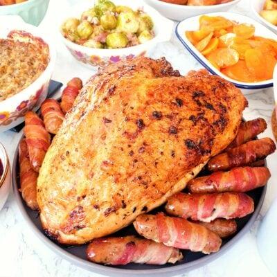 How to Roast Turkey (Wet Brined)