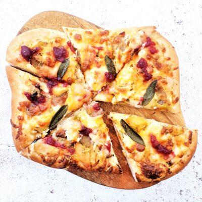 Leftover Roast Dinner Pizza