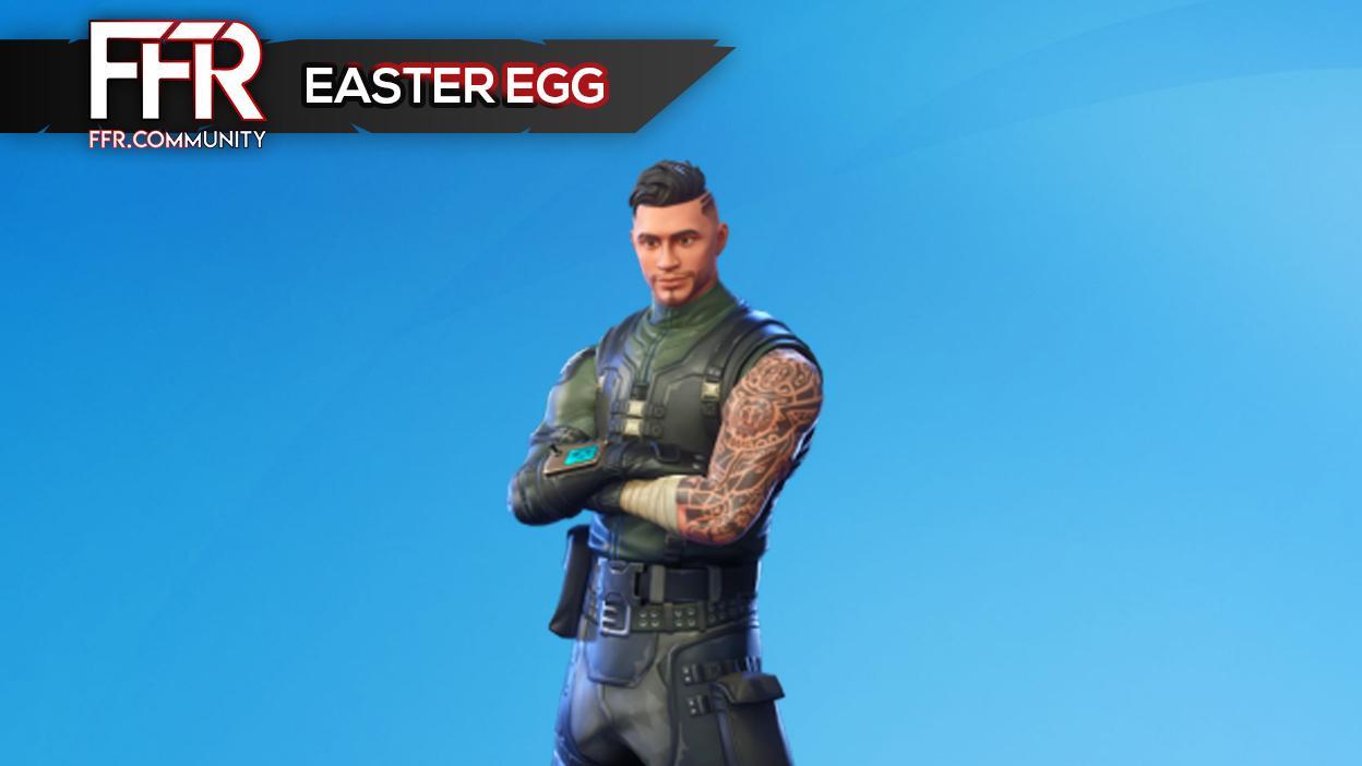 Fortnite : l'Easter Egg du Chef de Section !