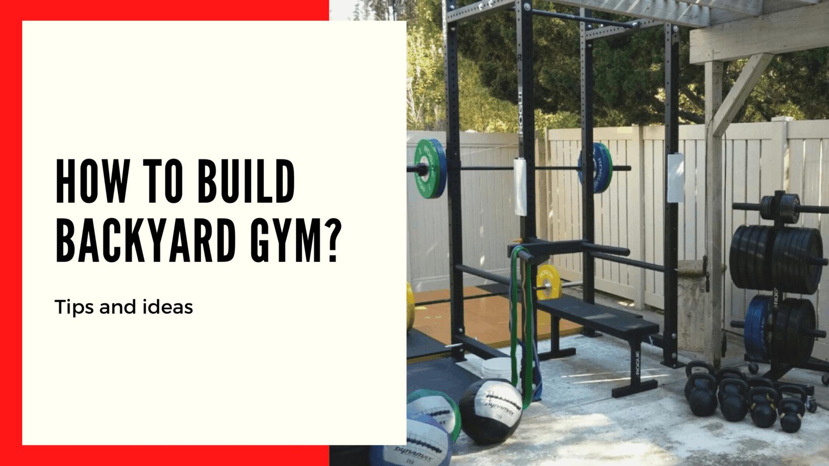 outside gym ideas