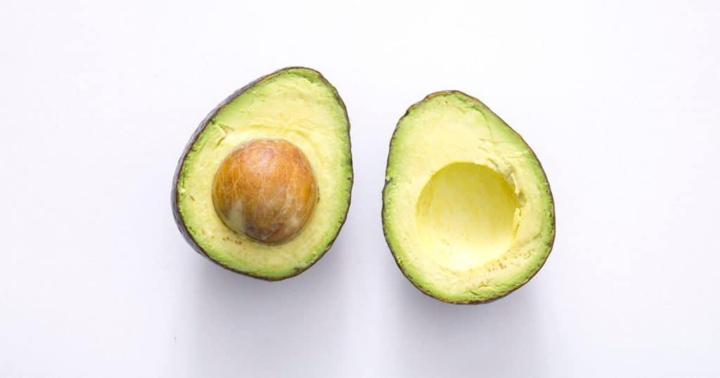 Pittige avocado