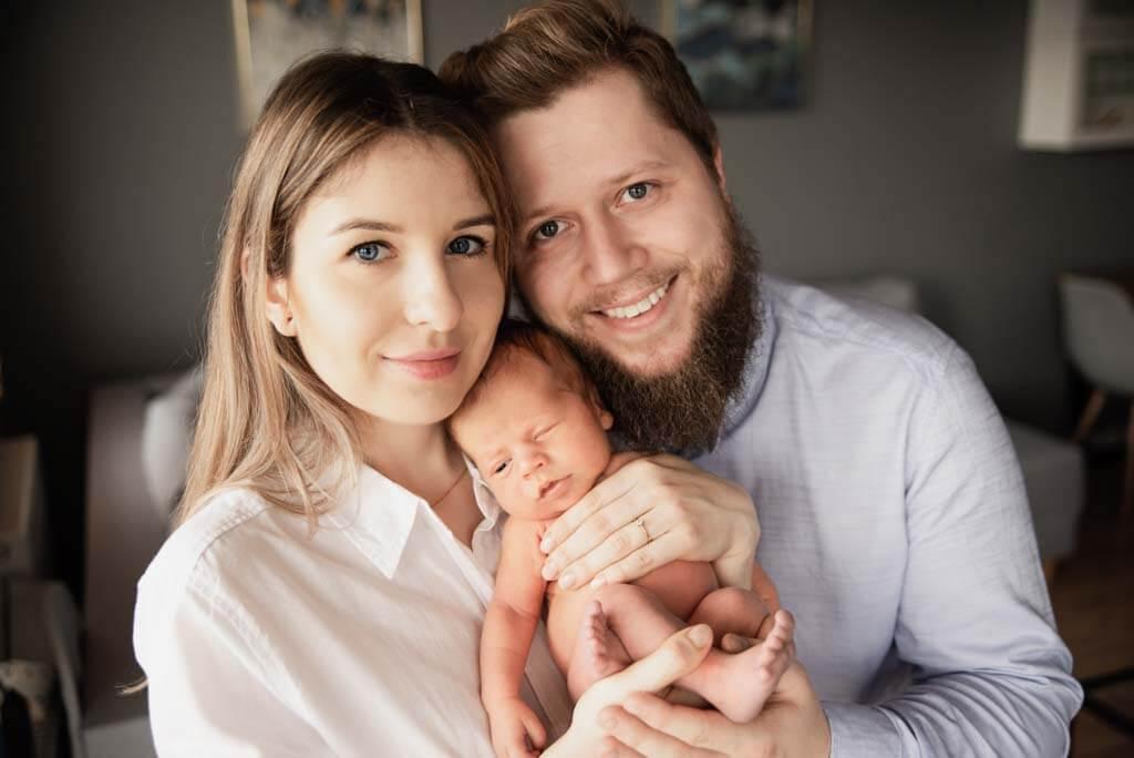 domowa fotografia noworodkowa