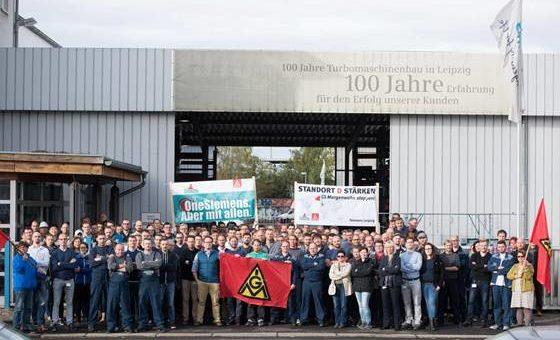 Demo gegen Standort-Schließung: SIEMENS Plagwitz braucht Unterstützung