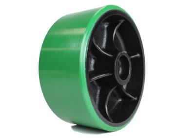 Green polyurethane Caster