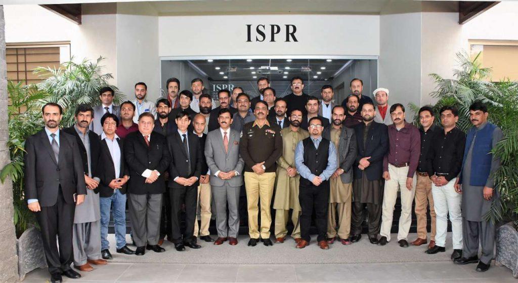 Journalists from Gilgit-Baltistan
