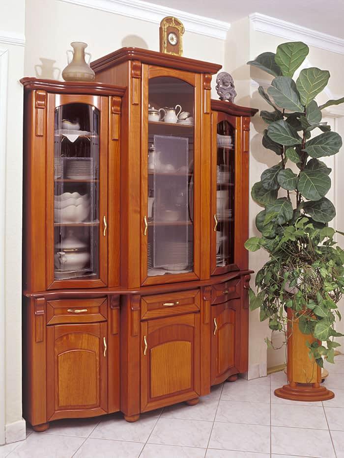 vitrines tálalószekrény