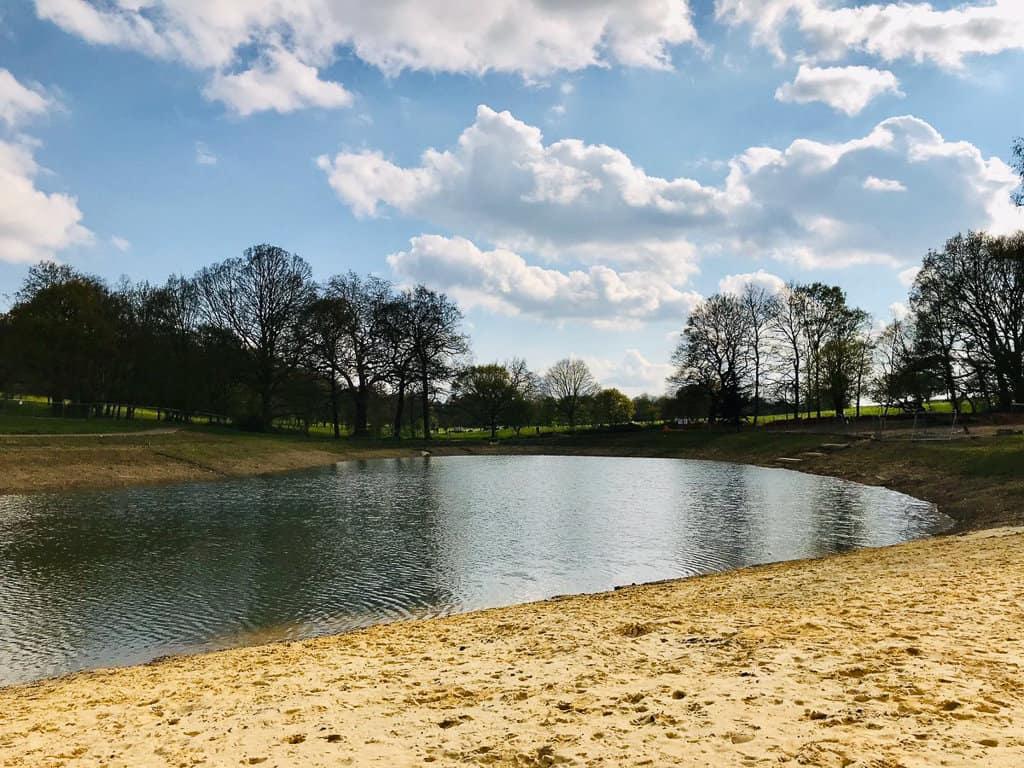 Beckenham Place Park Wild Swimming Lake