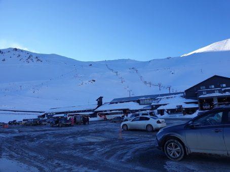 The Car Park at Mt Hutt