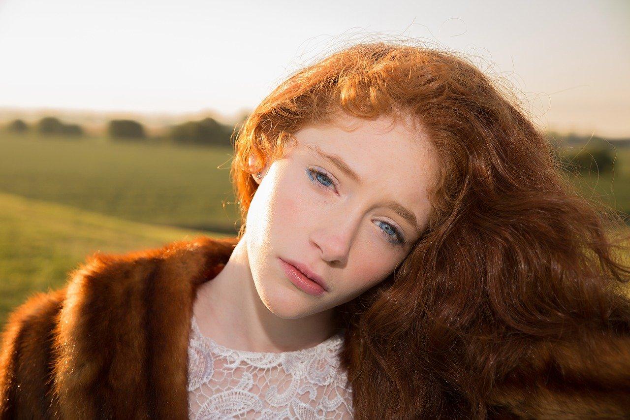 brown hair photo
