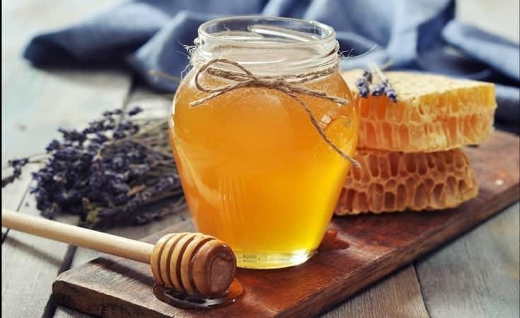 honey mask face