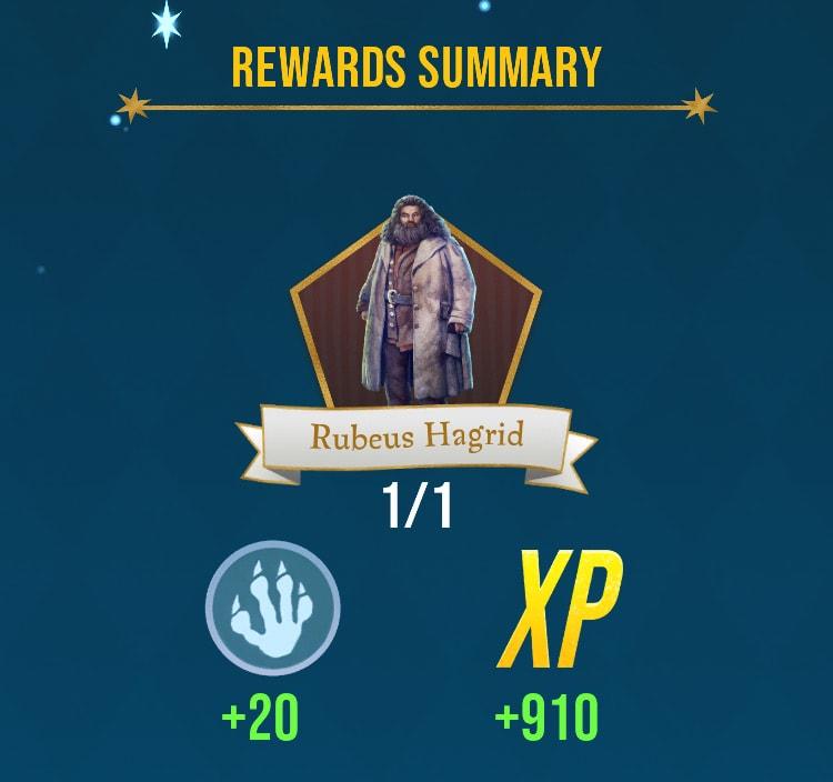 Harry Potter Wizards Unite Hagrid Level 1