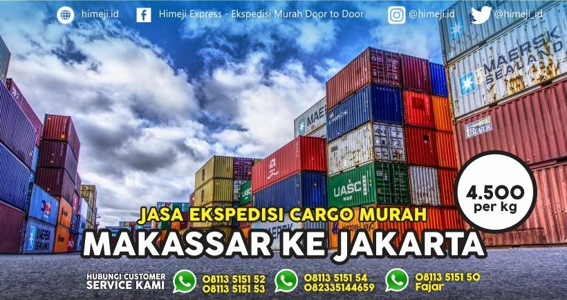Jasa Ekspedisi Cargo Makassar tujuan Jakarta