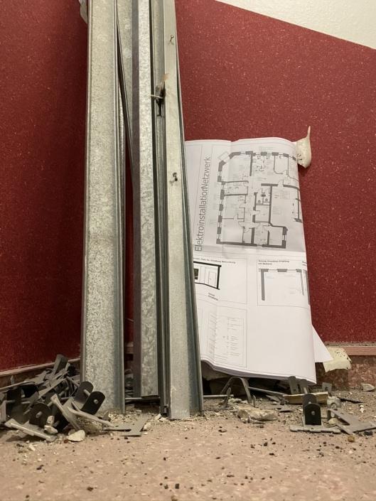 Ständerprofile und Installationsplan