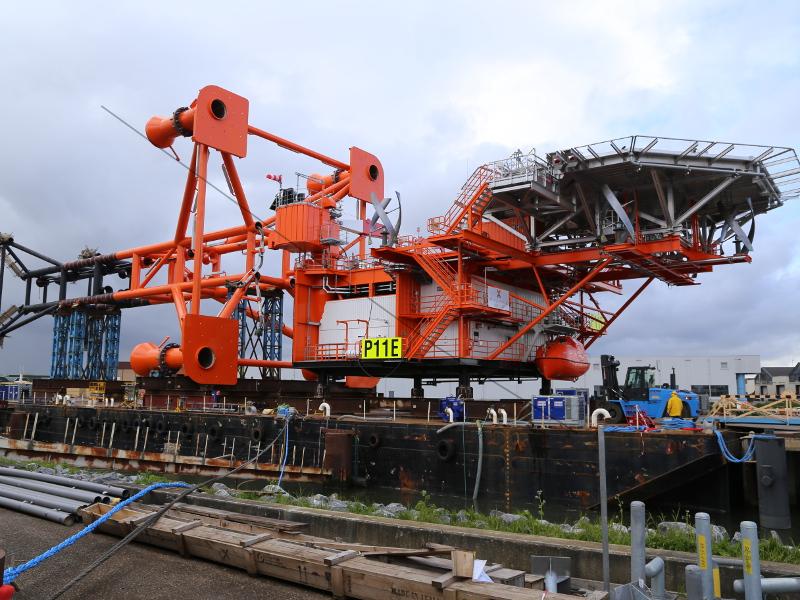 Hoogvliet Offshore Oranje Nassau P11E Platform 10