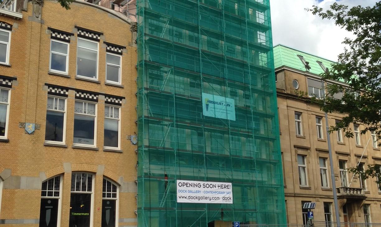 hoogvliet Renovatie kantoorgebouw Veerhaven Rotterdam