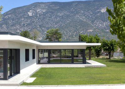 Modelo HDS Hormitech de casa modular en hormigón. Organyà