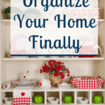 Get your home organized using Abby's method. She will teach you how to plan a project and take you through the whole process. You will quickly have an organized home you will love. #abbylawson #organizedhome #impactfulhabits