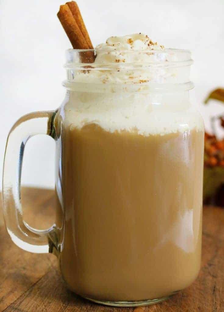 Easy Low Fat Pumpkin Spice Latte Recipe