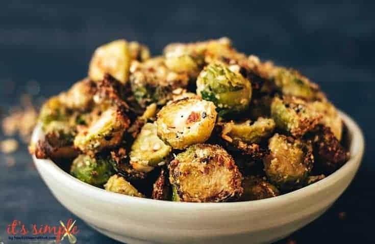 Everything Bagel Seasoned Brussel Sprouts