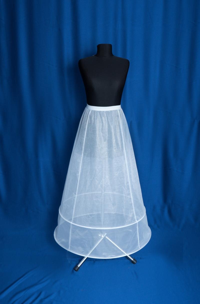 crinolina pentru rochie de mireasa cu 2 cercuri