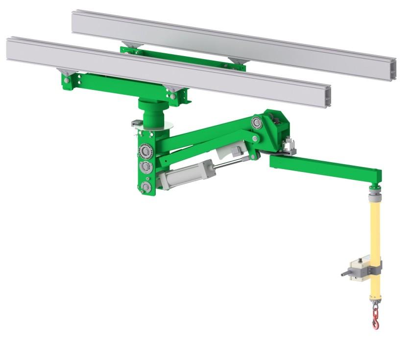 PN Compatto overhead rails