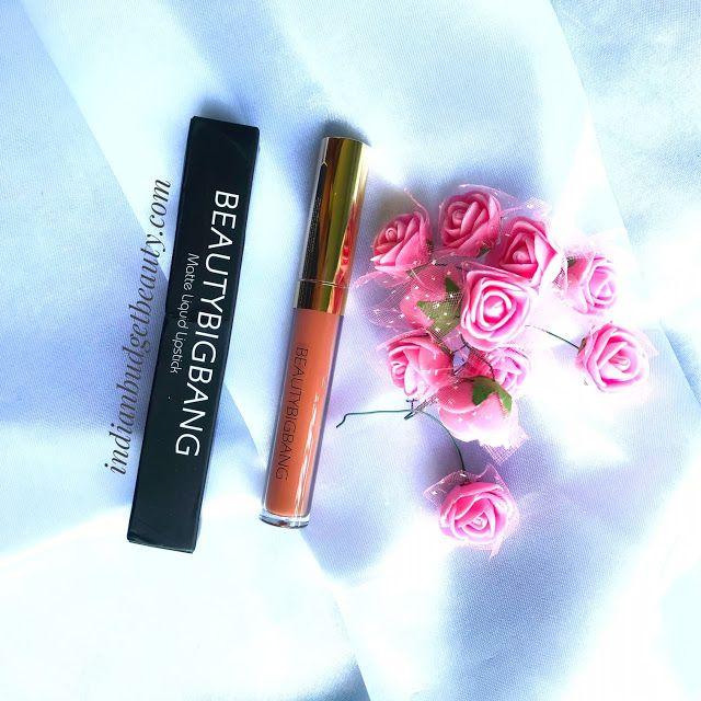liquid lipstick 04 Dark Brown beautybigbang review