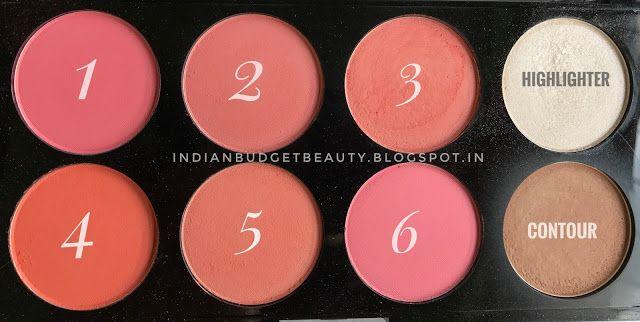 sivanna colors ultra blush palette review
