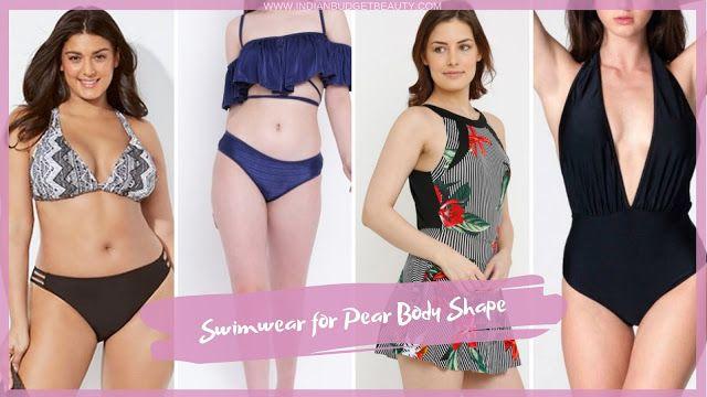 swimwear for pear body type