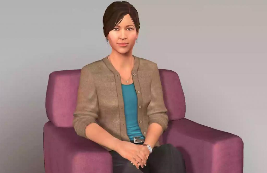 Ellie - virtuel terapeut - kunstig intelligens