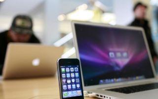 Причины проблем USB соединения макбука и айфона, флешки