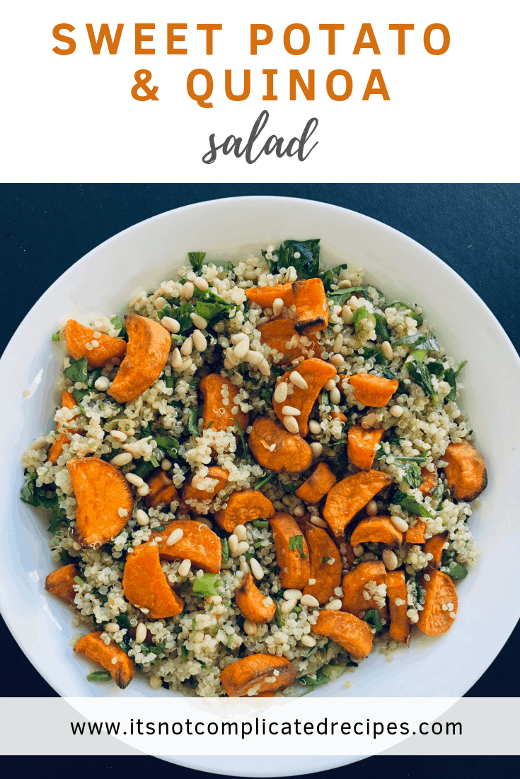 Sweet Potato and Quinoa Salad - It's Not Complicated Recipes #quinoa #salad #sweetpotato #healthyrecipes #vegan #glutenfree