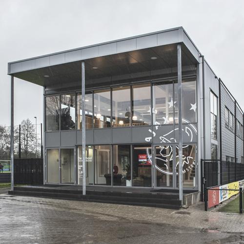 De Toekomst, Ajax - een studiegebouw met een oppervlakte van ca. 1.000 m²