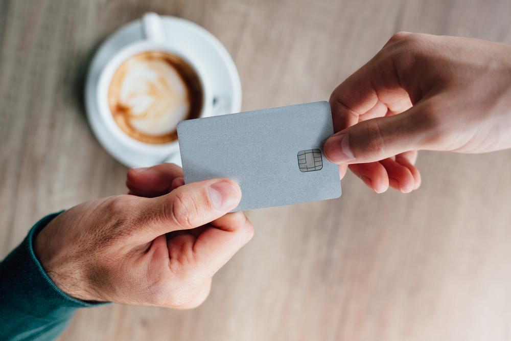 Chipkarte für den Kaffeevollautomaten