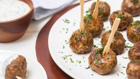 Keto Moroccan Lamb Meatballs Recipe