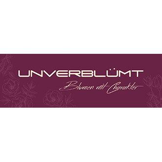 Unverbluemt - Blumen mit Charakter - Logo
