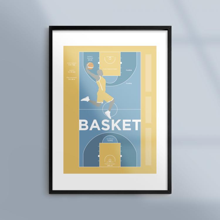En tavla om basket