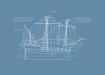Poster-Tavla-Fartyg-Kogg-kunskapat
